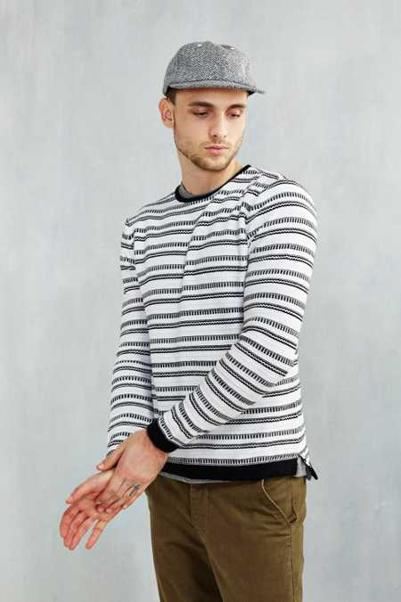 Native Youth Fair Isle Stripe Sweater