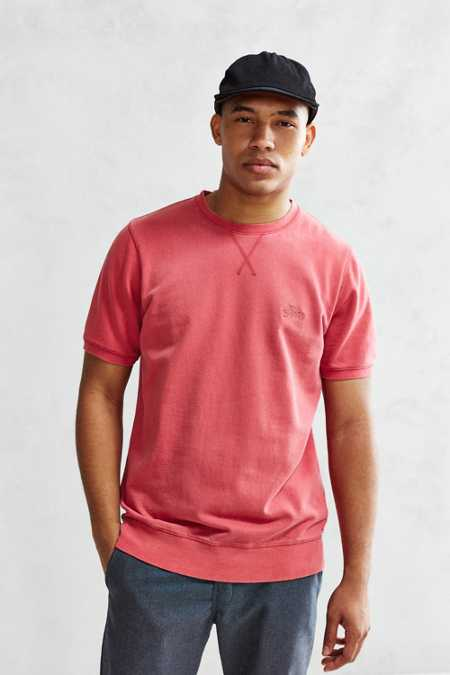 Stussy Stock Short-Sleeve Sweatshirt