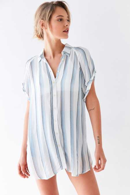BDG Azura Button-Down Top