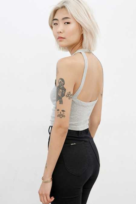 Truly Madly Deeply Cropped Harness Back Tank