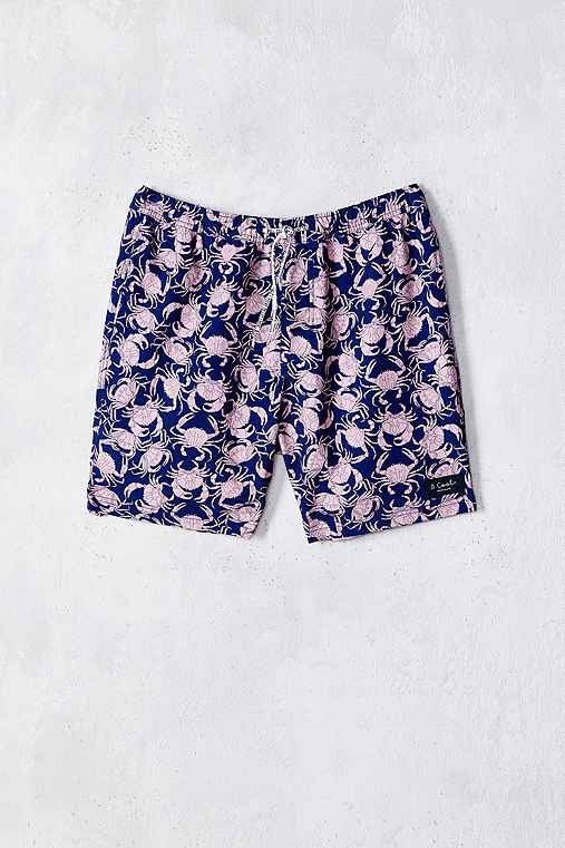 Barney Cools Sandy Crabs Swim Short,ROSE,30