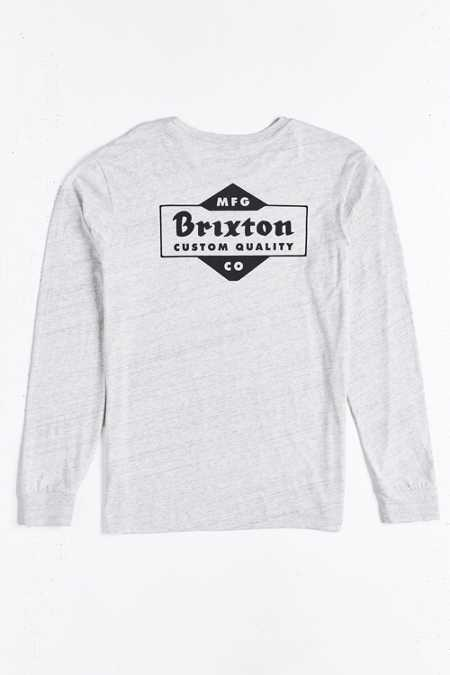 Brixton Crowich Long-Sleeve Pocket Tee