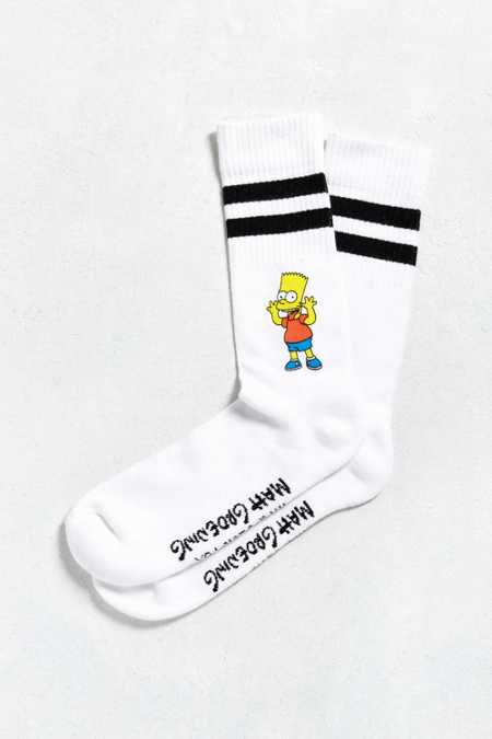 Bart Simpson Sport Stripe Sock
