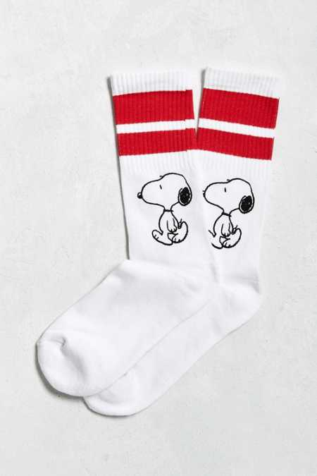 Snoopy Sport Stripe Sock
