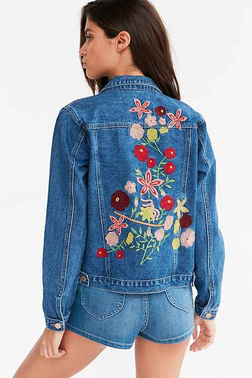 Embroidered denim jacket mens – Modern fashion jacket photo blog