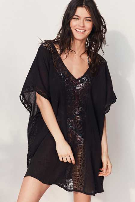Out From Under Mini Caftan Cover-Up