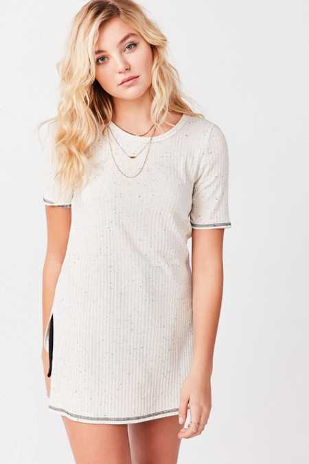 Hiatus Dirty Thirty Ribbed Tunic Top