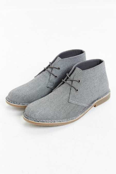 Hawkings McGill Chambray Desert Boot