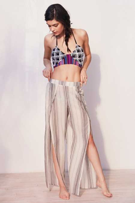 Out From Under Side Slit Beach Pant