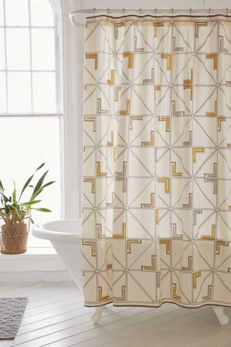 4040 Locust Adrian Tile Shower Curtain