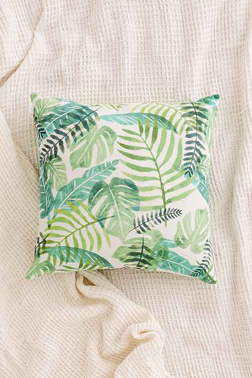 Home Outfitters Decorative Pillows : Assembly Home Printed Palms Pillow - Urban Outfitters