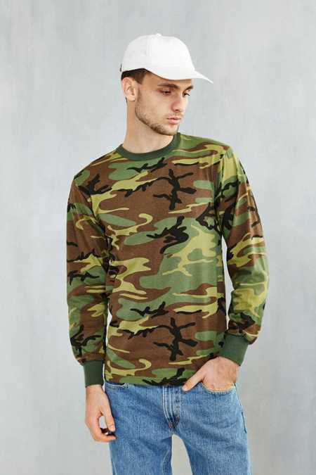 Rothco Camo Long-Sleeve Tee