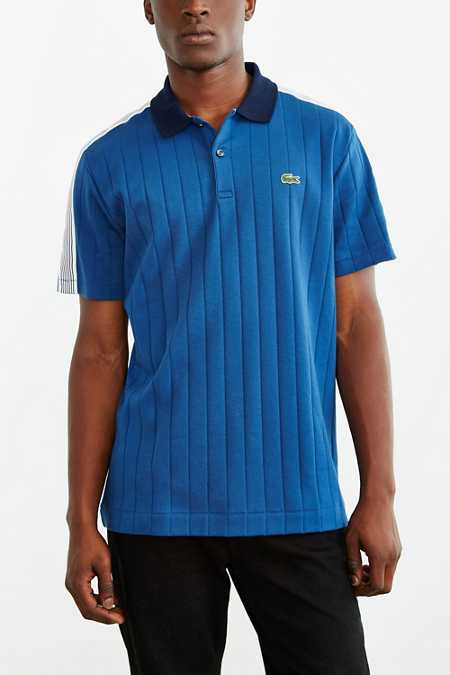 Lacoste L!ve Stripe Polo Shirt