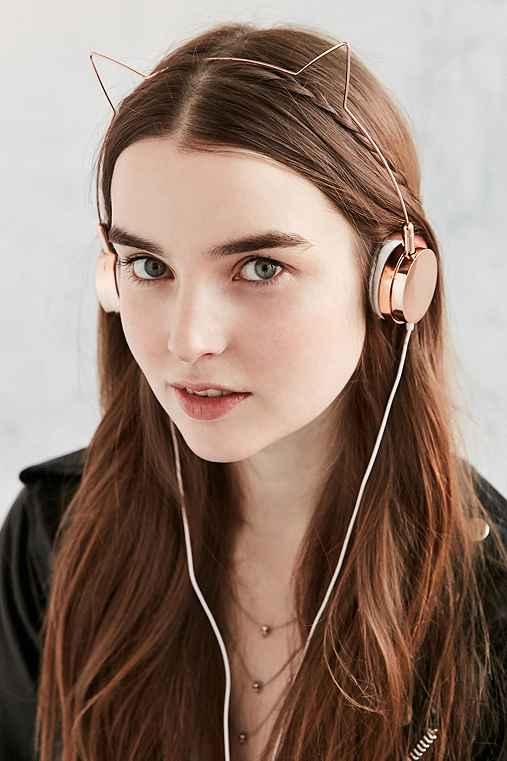 Cat Headphones,ROSE,ONE SIZE