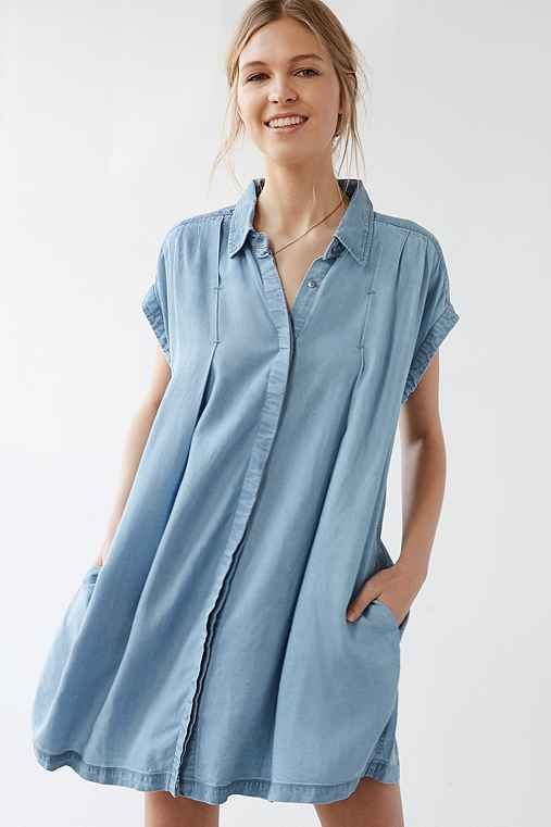 Cooperative Charmane Chambray Dress,VINTAGE DENIM LIGHT,M