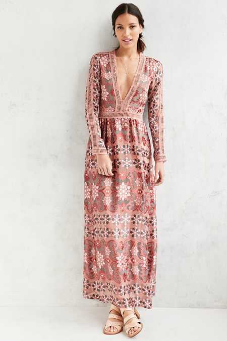 For Love & Lemons Juliet Maxi Dress