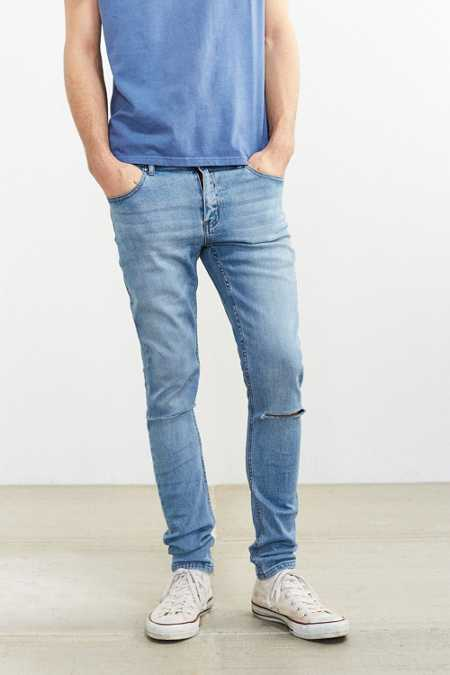 Cheap Monday Tight Stonewash Destroyed Skinny Jean