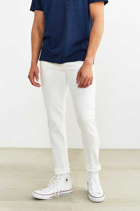 Cheap Monday White Fusion Tight Skinny Jean