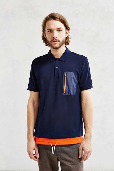 Lacoste Live Nylon Pocket Tee