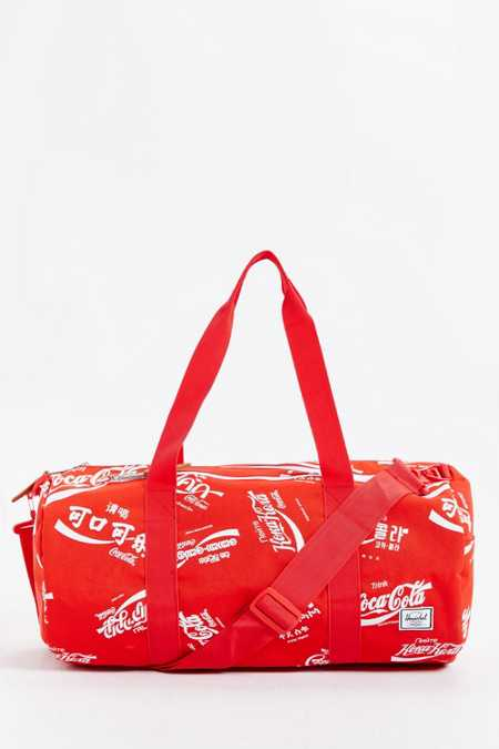 Herschel Supply Co. X Coca-Cola Sutton Weekender Duffel Bag