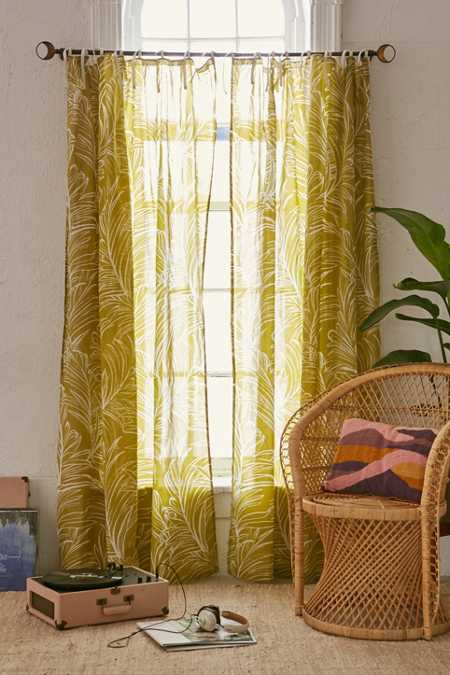 Plum & Bow Edna Palm Curtain