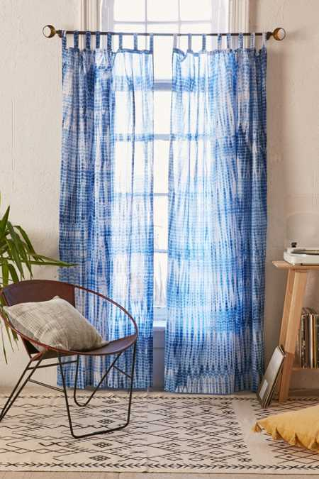 Magical Thinking Dye Streak Curtain