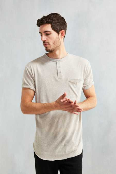 Feathers Delta Henley Shirt