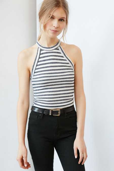 Truly Madly Deeply High-Neck Tank Top