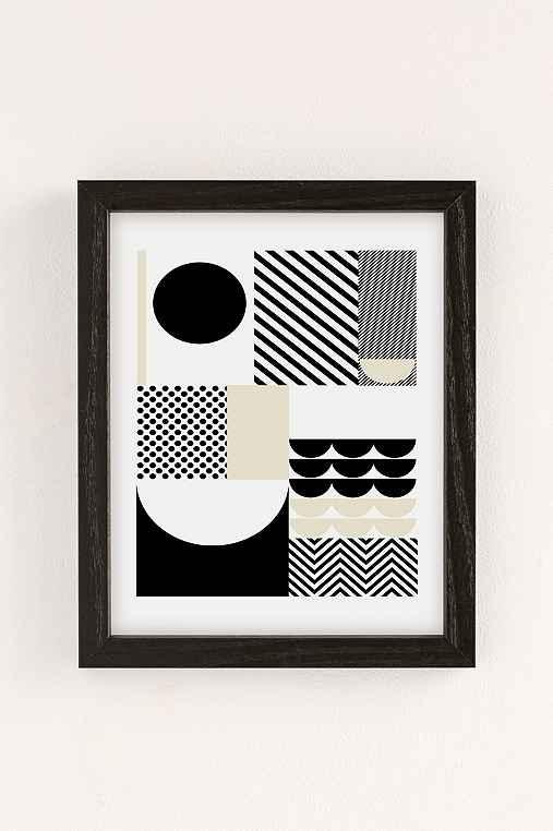 Suzanne Antonelli Happiness Art Print,BLACK WOOD FRAME,30X40