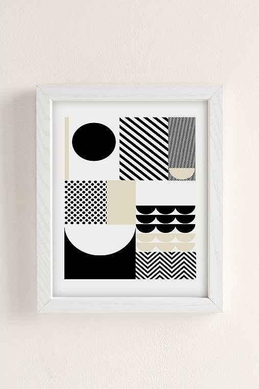 Suzanne Antonelli Happiness Art Print,WHITE WOOD FRAME,13X19