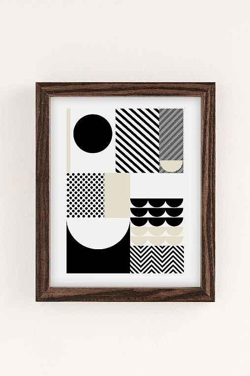 Suzanne Antonelli Happiness Art Print,WALNUT WOOD FRAME,30X40