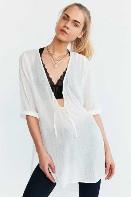 Ecote Lin Tunic Top