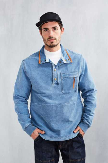 Without Walls Denim Terry Sweatshirt