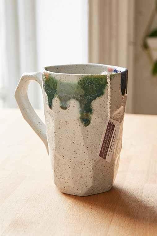 Boulder Reactive Latte Mug,WHITE,ONE SIZE