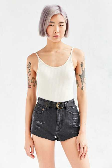 BDG Super High-Rise Cheeky Denim Short