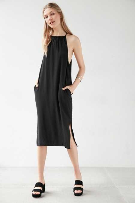 Silence + Noise Phoenix Square-Neck Modern Dress