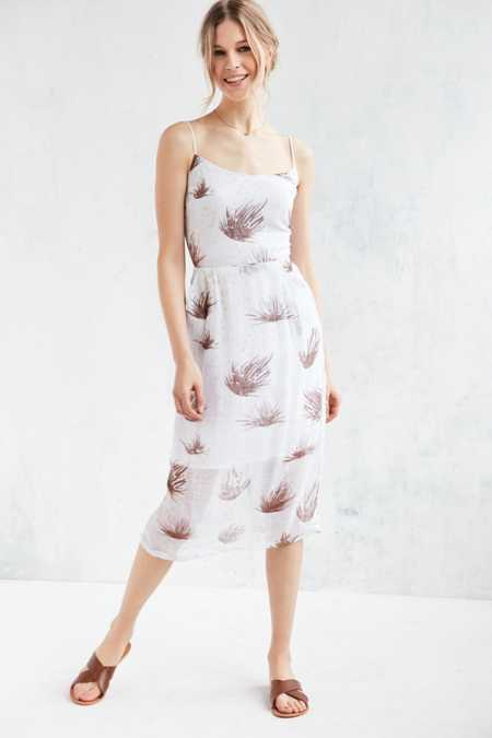 Objects Without Meaning For UO Strappy Printed Midi Dress