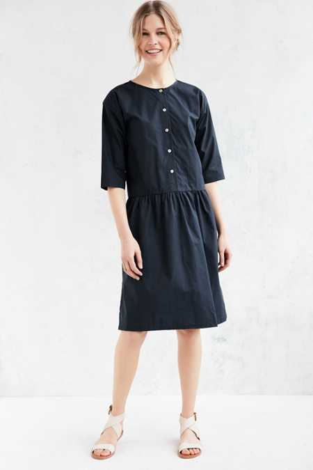 Objects Without Meaning For UO Drop-Waist Midi Dress
