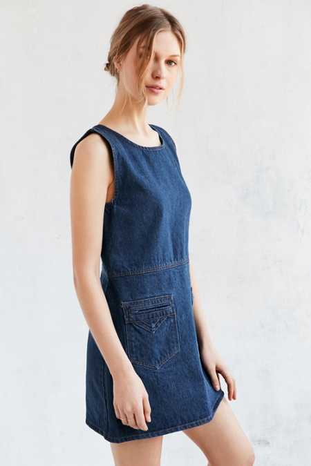Objects Without Meaning For UO Denim Mini Dress