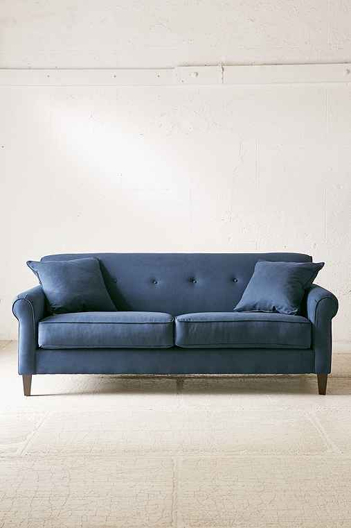 Spencer Microfiber Sofa   Urban Outfitters
