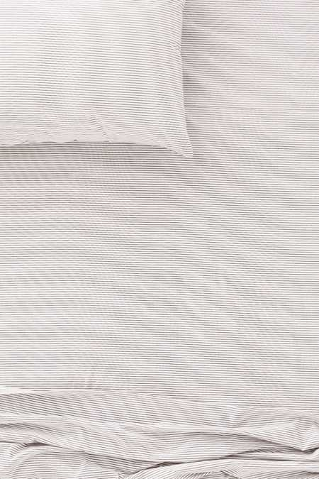Covina Stripe Fitted Sheet