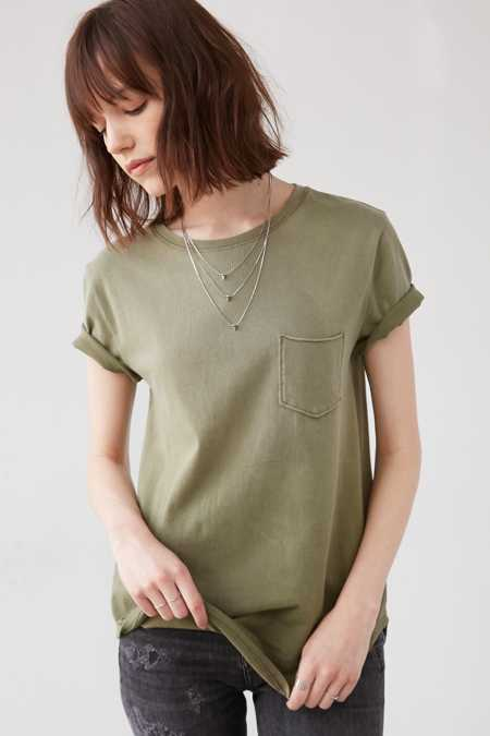 Silence + Noise Chloe Pocket Tee