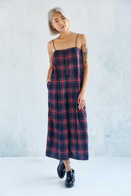 The Fifth Label Let's Dance Tartan Jumpsuit