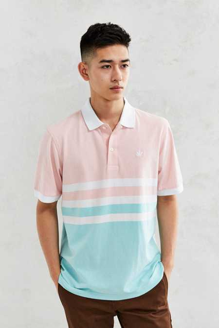 Boast Block Stripe Polo Shirt