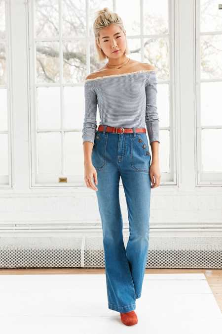 BDG Sailor High-Rise Flare Jean