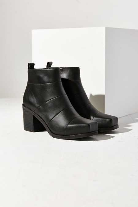 Intentionally Blank Hex Ankle Boot