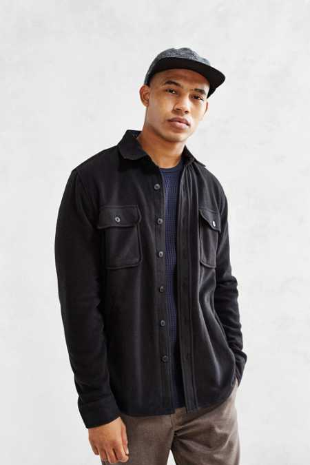 OBEY Lafayette Polar Fleece Shirt Jacket