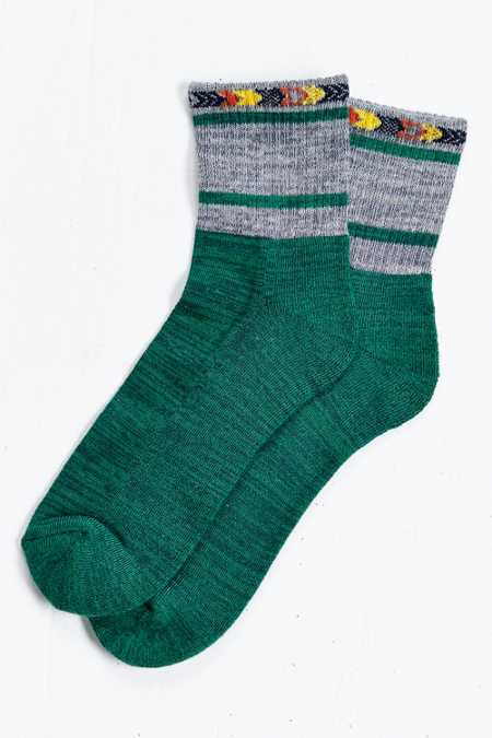 Southwestern Stripe Ankle Sock
