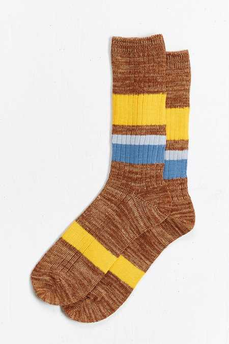 Colorblocked Sock
