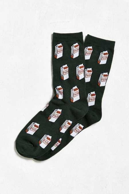 Milk Cartons Sock